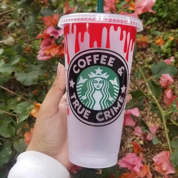 Crime Starbucks cup